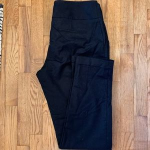 Black Slim Fit Slacks